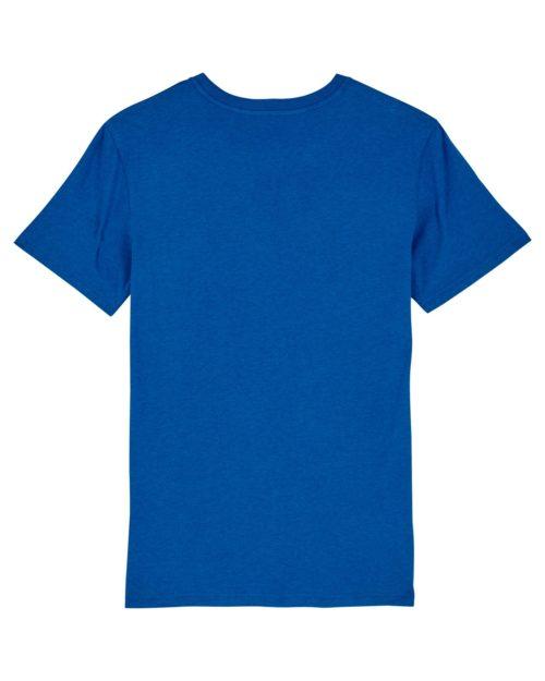 tshirt puro latino dios es amor bleu dos