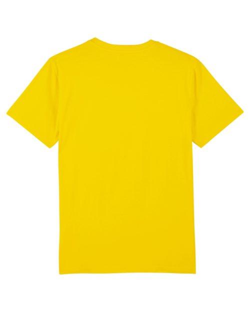 tshirt puro latino alegria energia pasion jaune vert dos