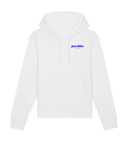 sweat capuche Puro Latino blanc