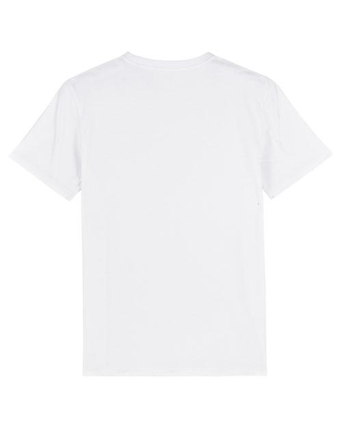 tshirt puro latino alegria energia pasion blanc dos