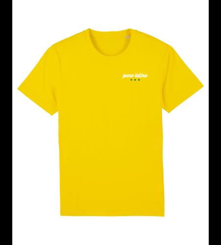 tshirt puro latino jaune